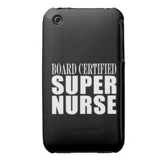 Nurses Birthday Party Board Certified Super Nurse Case-Mate iPhone 3 Case