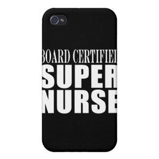 Nurses Birthday Party Board Certified Super Nurse iPhone 4/4S Cover