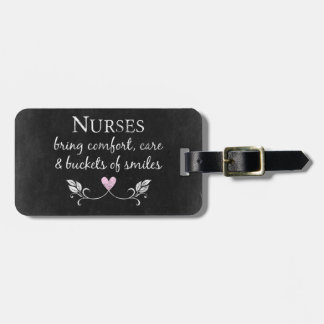 Nurses Bring Comfort Tag For Luggage
