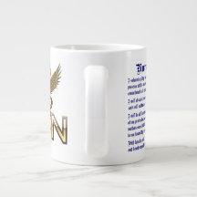 Nurses Caduceus RN Pledge Jumbo Read About Design