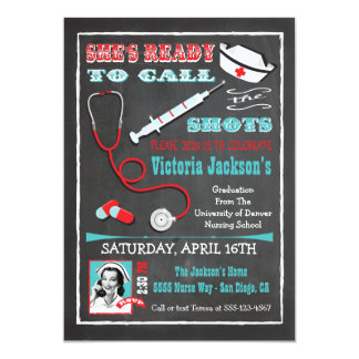 Nurses call the shots Graduation Medical school Card