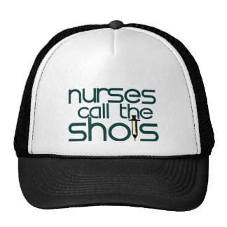 Nurses Call The Shots Hats