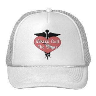 Nurses Call The Shots Trucker Hats