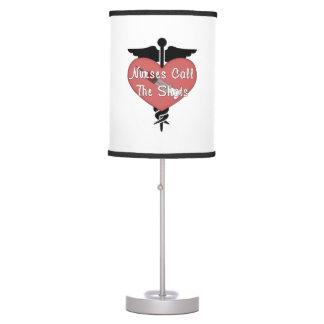 Nurses Call The Shots Table Lamp