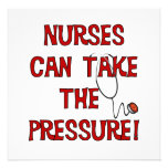 Nurses Can Take the Pressure Announcements