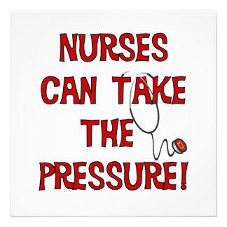 Nurses Can Take the Pressure Announcements
