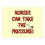 Nurses Can Take the Pressure Postcard