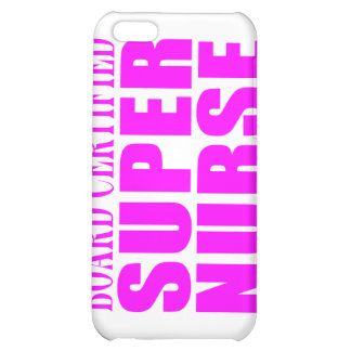 Nurses Cool Pink Gifts Board Certified Super Nurse Case For iPhone 5C