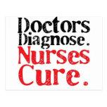 Nurses Cure Post Card