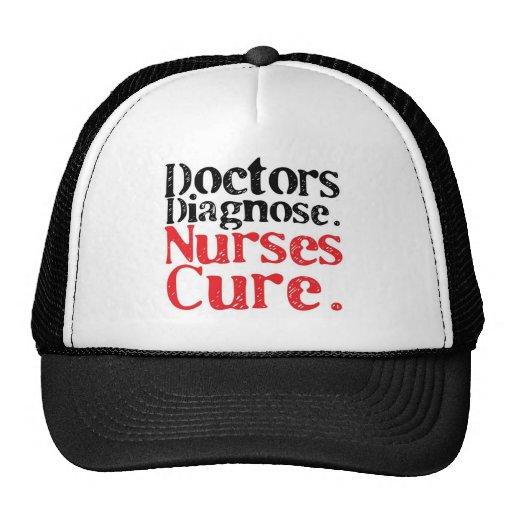 Nurses Cure Trucker Hat
