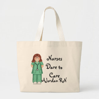 Nurses Dare to Care Tote Bag