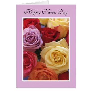 Nurses Day Card -- Rose Bouquet