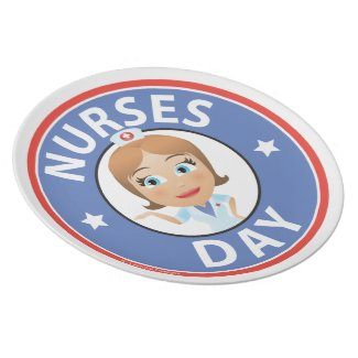 Nurses Day Dinner Plate