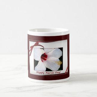 Nurses Day Floral Classic White Coffee Mug
