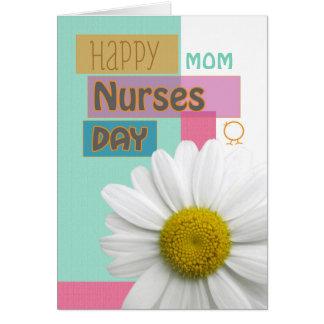 Nurses Day for Mom, Sister, etc, Daisy Scrapbook Greeting Card