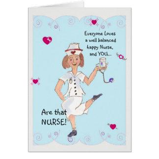 Nurse's Day greeting card