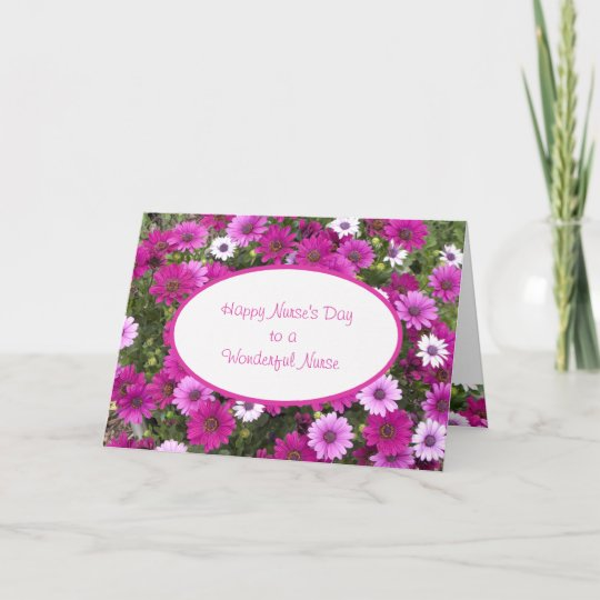 Nurses day greeting card to a wonderful nurse zazzle nurses day greeting card to a wonderful nurse m4hsunfo
