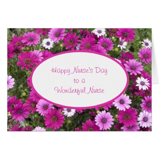 Nurses day greeting card to a wonderful nurse zazzle nurses day greeting card to a wonderful nurse m4hsunfo Image collections