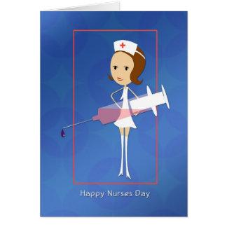 Nurses Day with Syringe Card