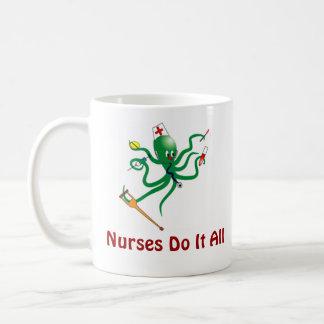 Nurses Do It All Coffee Mug