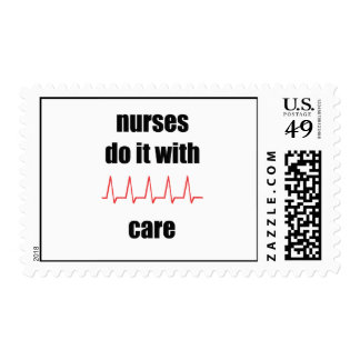 nurses do it with care stamp