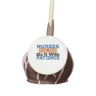 Nurses Do It With Patience Cake Pops