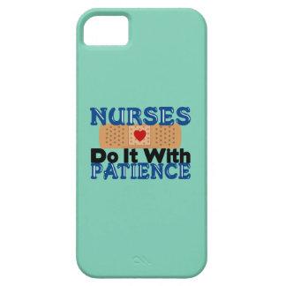 Nurses Do It With Patience iPhone SE/5/5s Case