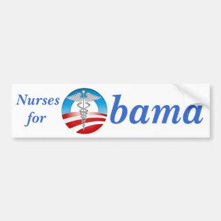 Nurses for Obama 2012 Bumper Sticker