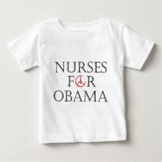 nurses for obama baby T-Shirt