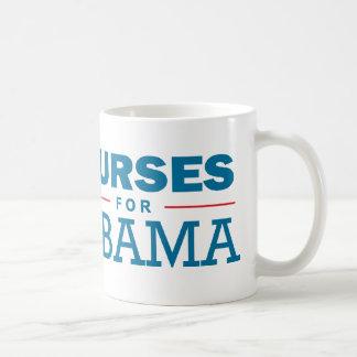Nurses for Obama Coffee Mug