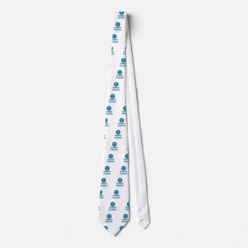 Nurses for Obama Custom Tie