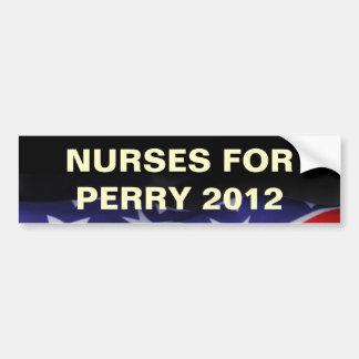 Nurses for PERRY 2012 Campaign Bumper Sticker