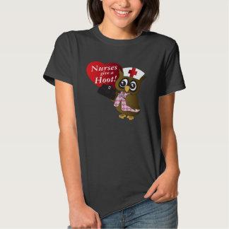 Nurses Give A Hoot! T-shirt