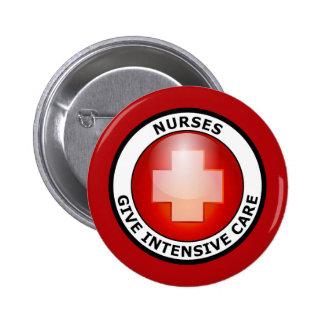 NURSES GIVE INTENSIVE CARE BUTTON