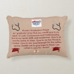 "Nurse&#39;s Graduation Prayer Decorative Pillow<br><div class=""desc"">This is a special pillow with a Nurse&#39;s Graduation Prayer on it.</div>"