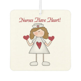 Nurses Have Heart Air Freshner Car Air Freshener