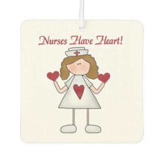 Nurses Have Heart Air Freshner Car Air Freshener