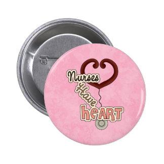 Nurses Have Heart Button