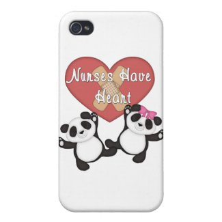 Nurses Have Heart Covers For iPhone 4