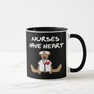 Nurses Have Heart Mug
