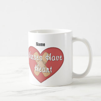 Nurses Have Heart (personalized) Mugs