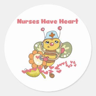 Nurses Have Heart Stickers