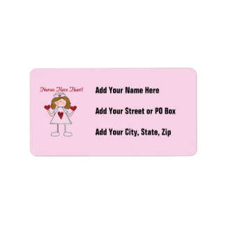 Nurses Have Heart T-shirts and Gifts Label