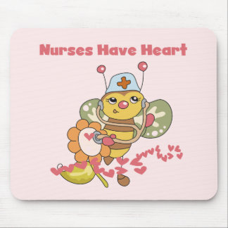 Nurses Have Heart T-shirts and Gifts Mouse Pad