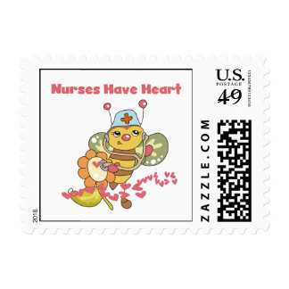 Nurses Have Heart T-shirts and Gifts Postage Stamps