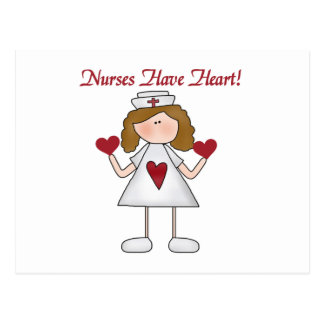 Nurses Have Heart T-shirts and Gifts Postcard