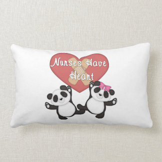 Nurses Have Heart Throw Pillow