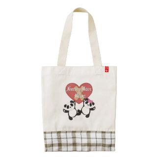 Nurses Have Heart Zazzle HEART Tote Bag
