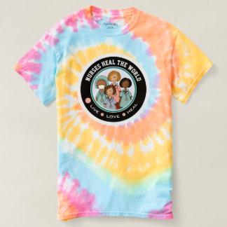 Nurses Heal the World. Gift Nurse T-Shirts
