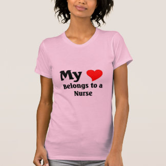 Nurse's Heart Tshirts